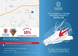Descompte exclusiu en anglès i reforç escolar a English Connection